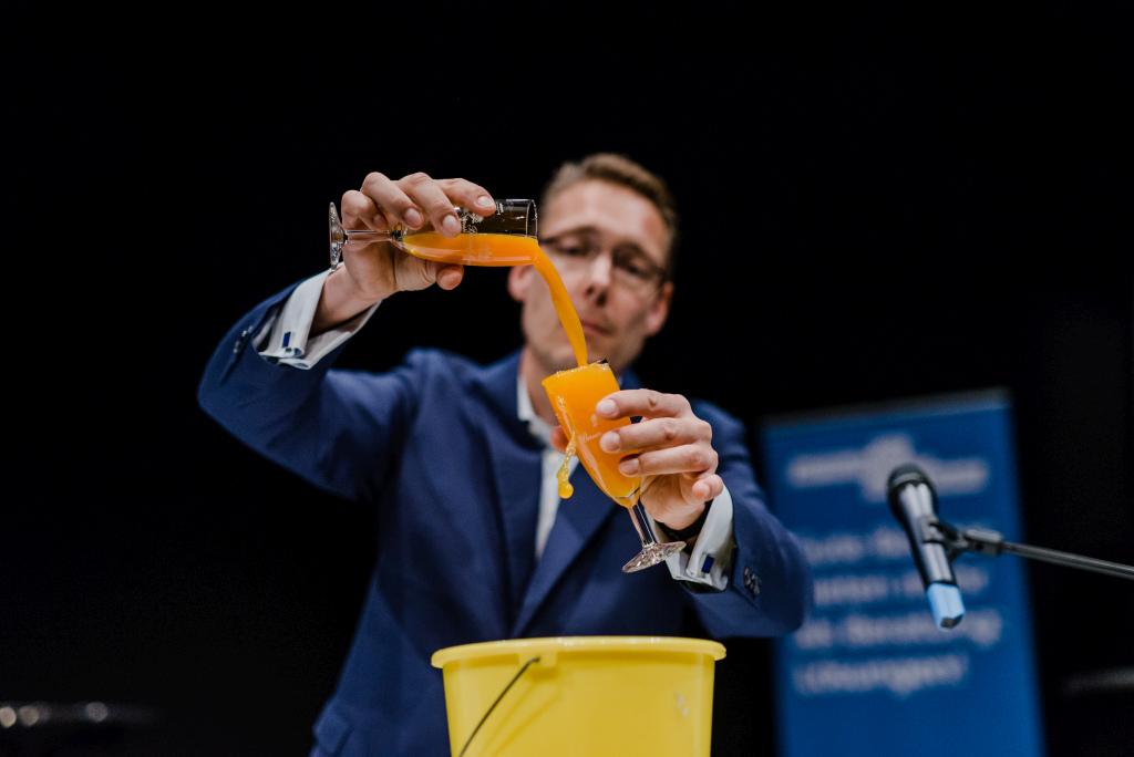 Keynote Carsten Lexa demonstriert die Mischung aus Familienunternehmen und StartUp